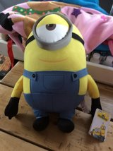 Minion toy in Lakenheath, UK