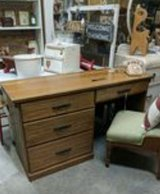 oak desk in Fort Campbell, Kentucky