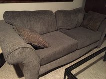 Gray Couch in Naperville, Illinois