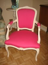 2 shabby chic PINK vintage arm chairs in Westmont, Illinois