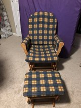 Baby Rocking Chair with Foot Rest in Fort Leonard Wood, Missouri