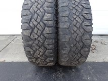 2 - Used 265/65R18 Goodyear Wrangler Duratrac Tires in Naperville, Illinois