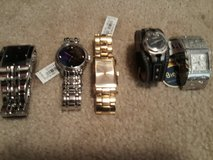 Brand New Guess /Fossil Watches in Vacaville, California