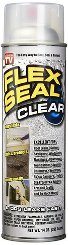 (8) Flex Seal Spray Rubber Sealant Coating, 14-oz, Clear. in Kingwood, Texas