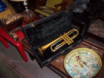 Trumpet in Case in Fort Riley, Kansas