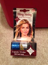 Bling for hair-blue and silver New in Warner Robins, Georgia