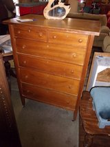 Six Drawer Vintage High Boy in Fort Riley, Kansas