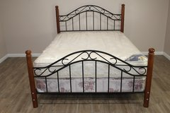 Queen Size Bed and Mattress in Kingwood, Texas