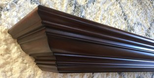 Solid Cherry Floating Shelf 6 foot, new in box in Plainfield, Illinois