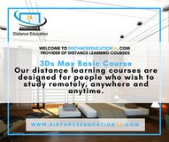 3Ds Max  Distance Training  Courses Tutorials in Gilroy, California