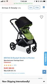 Britax B-Ready single to double stroller in Ramstein, Germany