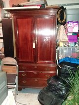 Mahogany Tv Armoire in The Woodlands, Texas