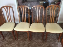 4 Wooden Dining Chairs in Lakenheath, UK