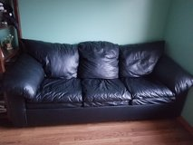Leather Queen Sleeper sofa in Naperville, Illinois