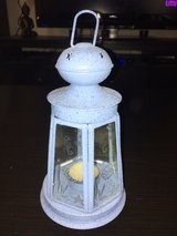 beautiful blue nautical lantern in Wright-Patterson AFB, Ohio