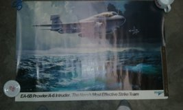 Ea-6b/prowler poster in Cherry Point, North Carolina