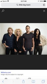 Little Big Town 4 Tickets in section 102 all together in The Woodlands, Texas