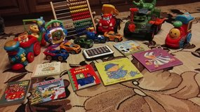 Toy lot for a toddler boy(Vtech toys,abacus, cars, books) in Ramstein, Germany