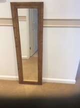 HEAVY RUGGED  COUNTRY LOOK FREESTANDING OR WALL MIRROR in Lakenheath, UK