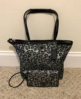 New Coach Ocelot Tote & Wallet Set in Camp Lejeune, North Carolina