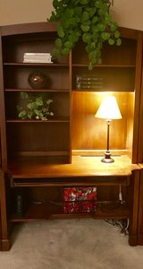 Ethan Allen desk and bookshelves in Chicago, Illinois