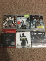 PS3 Games Brand New Sealed in Plainfield, Illinois