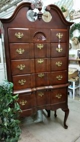 Highboy chest in Fort Campbell, Kentucky