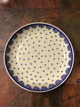 polish Pottery dinner plate in Ramstein, Germany