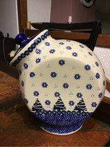 polish Pottery cookie jar in Ramstein, Germany