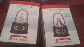Musical dome christmas in Algonquin, Illinois