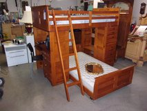 Beautiful Wooden Bunk Bed Set in Fort Riley, Kansas
