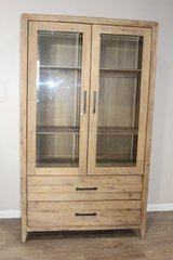 Harbourside Curio Unit / 2 Drawer, 2 Door in Spring, Texas