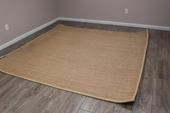 Hand-Made Beige Rug (86' x 89') in Spring, Texas