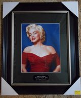 Marilyn Monroe framed in Alamogordo, New Mexico