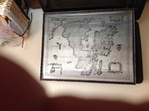 STAINLESS STEEL HAND PRODUCED PICTURE OF ENGLAND AND WALES in Eglin AFB, Florida