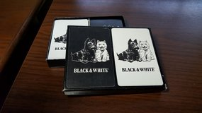 Black & White Scotch Whiskey Playing Cards in Glendale Heights, Illinois