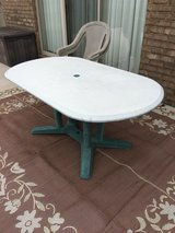 outdoor table in Pensacola, Florida