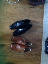 Two pairs of Men's shoes size 11.5 in Hinesville, Georgia