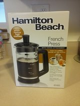 Hamilton Beach French Press Coffee Maker in Palatine, Illinois