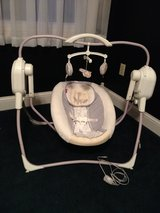 Fisher Price Space Saving Cradle and Swing in Fort Knox, Kentucky