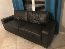 Leather Sofa in Tampa, Florida