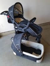 Jogging stroller with bassinet/seat in Travis AFB, California