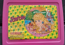 VINTAGE 1980's BARBIE LUNCH BOX w/ THERMOS in Batavia, Illinois