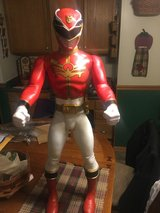 Red 32 inch Power Ranger large cool looking super hero in Chicago, Illinois