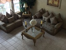 Sofa Set and Tables in Joliet, Illinois
