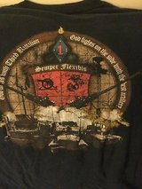 USMC t-shirt Afghanistan Fire Base Fiddler's Green size LG. Marines in Okinawa, Japan