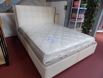 European Queen Storage Bed 160 x 200cm in Ramstein, Germany