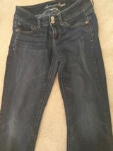 Juniors American Eagle Super Stretch Jeans in Fort Bragg, North Carolina