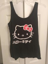 Juniors Black Hello Kitty Tank Size Large in Fort Bragg, North Carolina