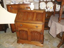Lovely Oak Genuine Old Charm Writing Bureau Desk in Lakenheath, UK